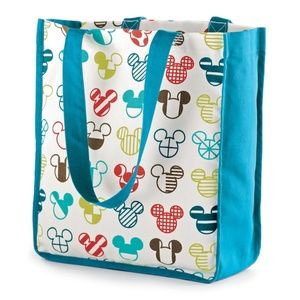 NEW Disney Mickey Mouse Reusable Shopping Tote Bag